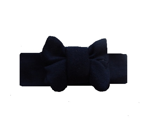 premature baby clothes Headband NAVY BLUE any tiny size