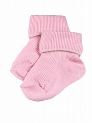 pair early baby socks premature baby clothes socks size 5-8lb pink