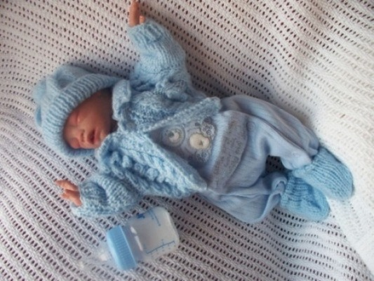 Hand Knitted Premature Baby Clothes Hand Crochet Prem Baby